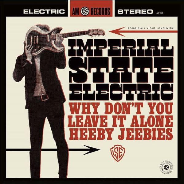 WHY DON´T YOU LEAVE ME ALONE / Heeby Jeebies   Black vinyl 500 copies,