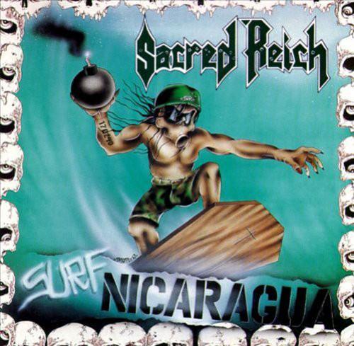 SURF NICARAGUA LIVE    Gatefoldsleeve, 180 gram + Bonustracks, 500 copies