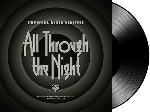 ALL THROUGH THE NIGHT  Black vinyl