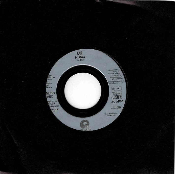 NUMB Jukebox Single
