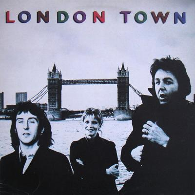 LONDON TOWN Swedish Original Pressing