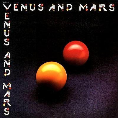 VENUS AND MARS US Original Pressing Gatefold Sleeve Toc