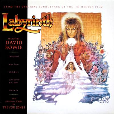LABYRINTH (FROM THE ORIGINAL SOUNDTRACK OF THE JIM HENSON FILM) Dutch Original Pressing Original Inn