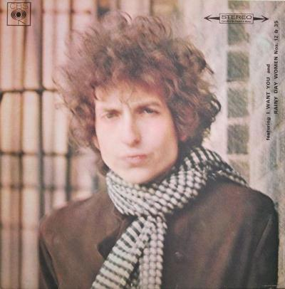 BLONDE ON BLONDE Dutch Pressing Gatefold Sleeve