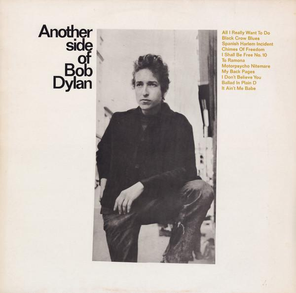ANOTHER SIDE OF BOB DYLAN Dutch Reissue