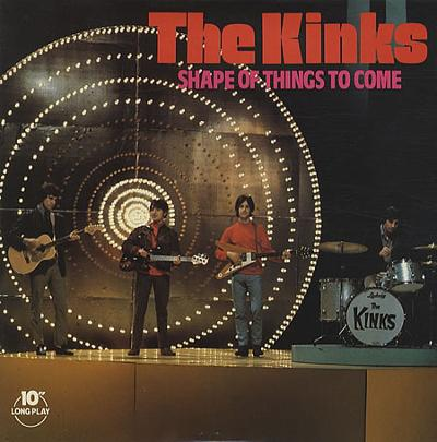 SHAPE OF THINGS TO COME UK Pressing 10''