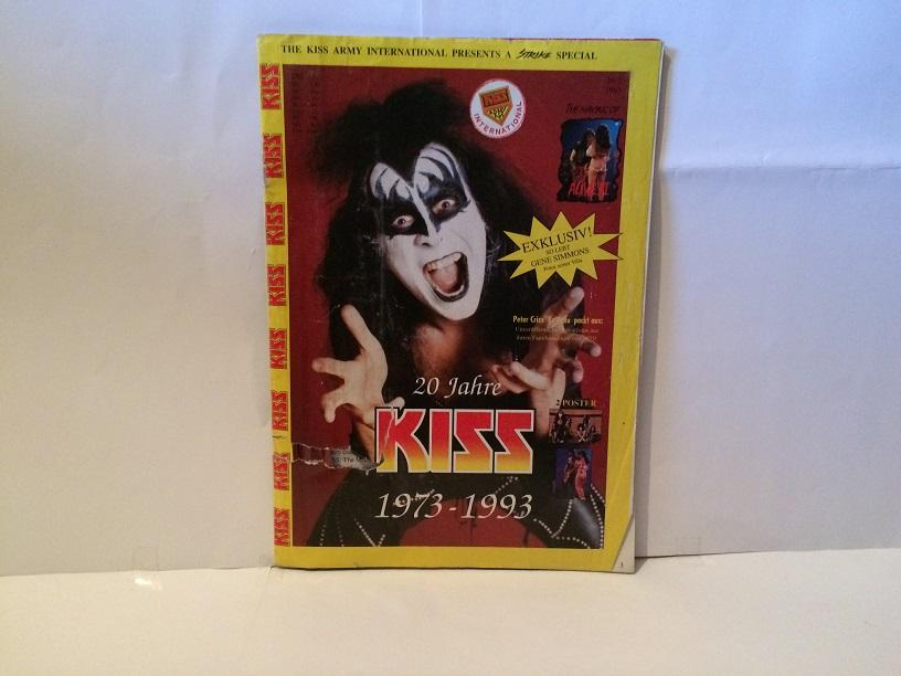 20 JAHRE KISS - 1973-1993 Kiss Magazine