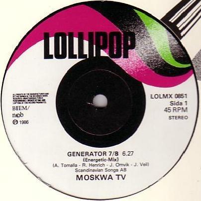 GENERATOR 7/8 / Generator 7/8 (Godzilla Mix)