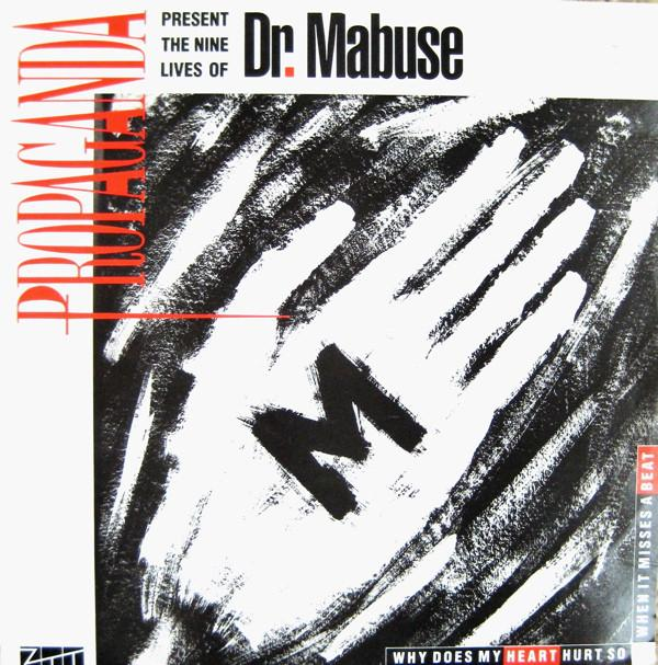 DR. MABUSE With WHO! CHANCE? BLINK!? Sleeve