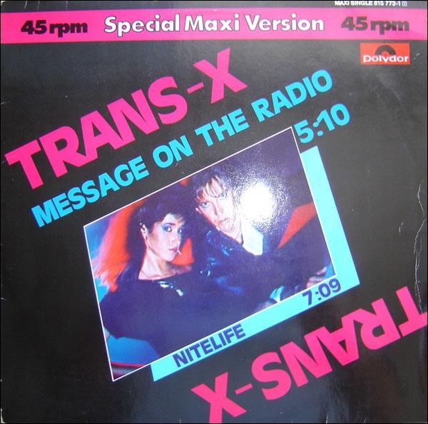 MESSAGE ON THE RADIO / Nitelife