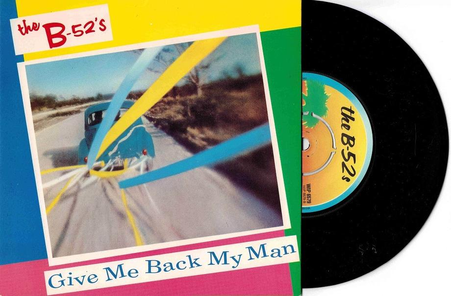 GIVE ME BACK MY MAN / Give Me Back My Man (Version)