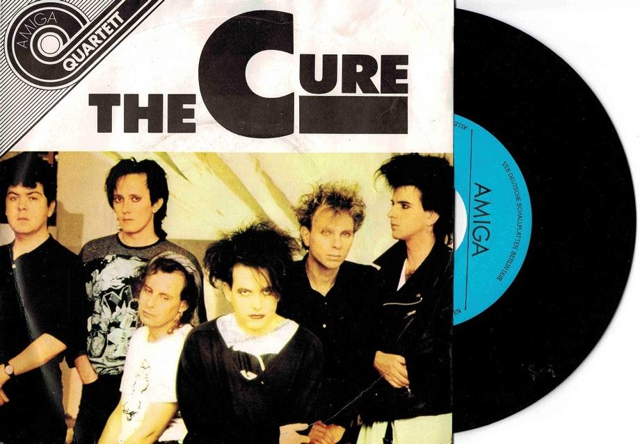 THE CURE DDR Pressing