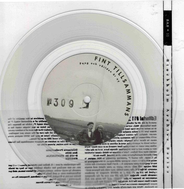 STARKE ADOLF Clear Vinyl