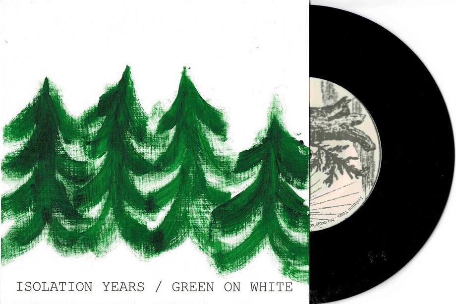 GREEN ON WHITE / No Man''s Land