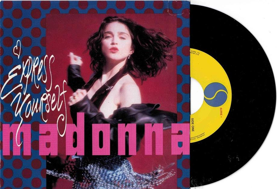 EXPRESS YOURSELF / The Look Of Love (LP Version)