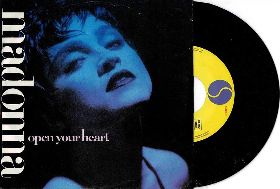 OPEN YOUR HEART / White Heat