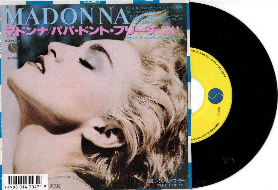 PAPA DON''T PREACH / Think Of Me