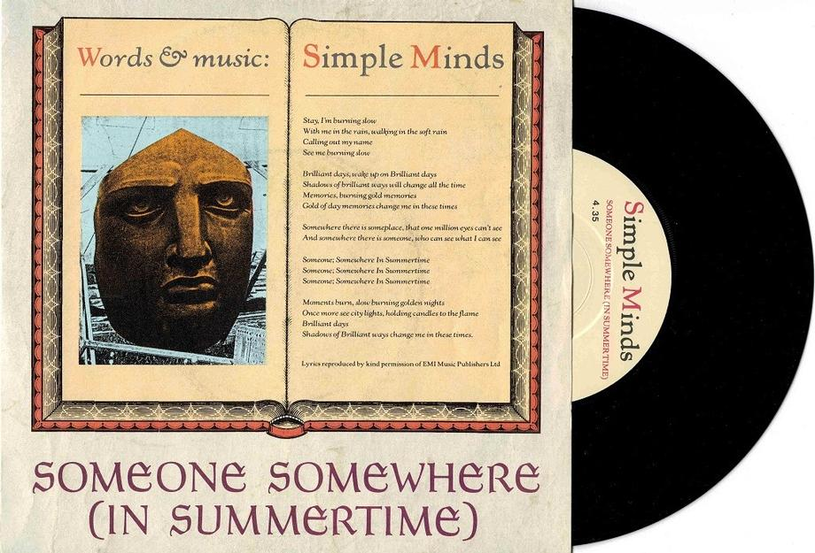 SOMEONE SOMEWHERE (IN SUMMERTIME) / King Is White And In The Crowd