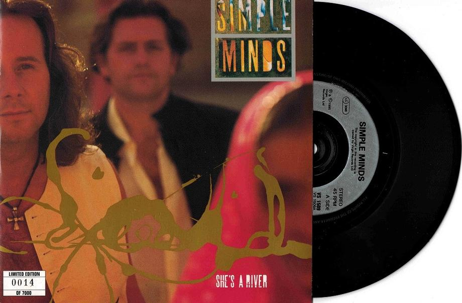 SHE''S A RIVER / E 55  Numbered 0014 of 7000 copies