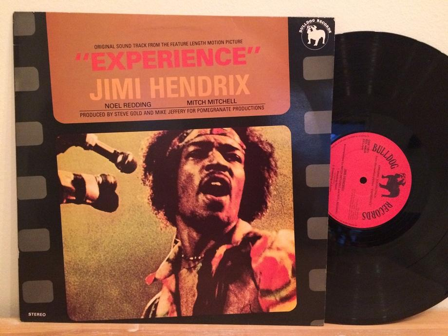 ''EXPERIENCE'' ORIGINAL SOUND TRACK FROM THE FEATURE LENGTH MOTION PICTURE UK Pressing