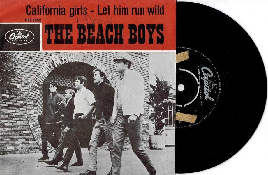 CALIFORNIA GIRLS / Let Him Run Wild (Sol)