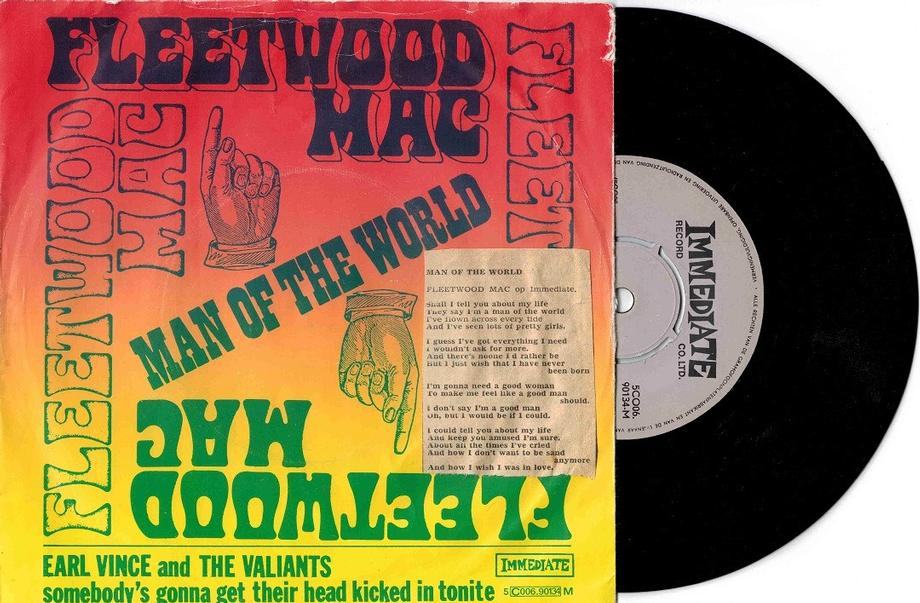 MAN OF THE WORLD / Somebody's Gonna Get Their Head Kicked In Tonite