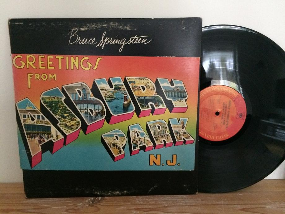 GREETINGS FROM ASBURY PARK, N.J. US Pressing With Foldout Sleeve