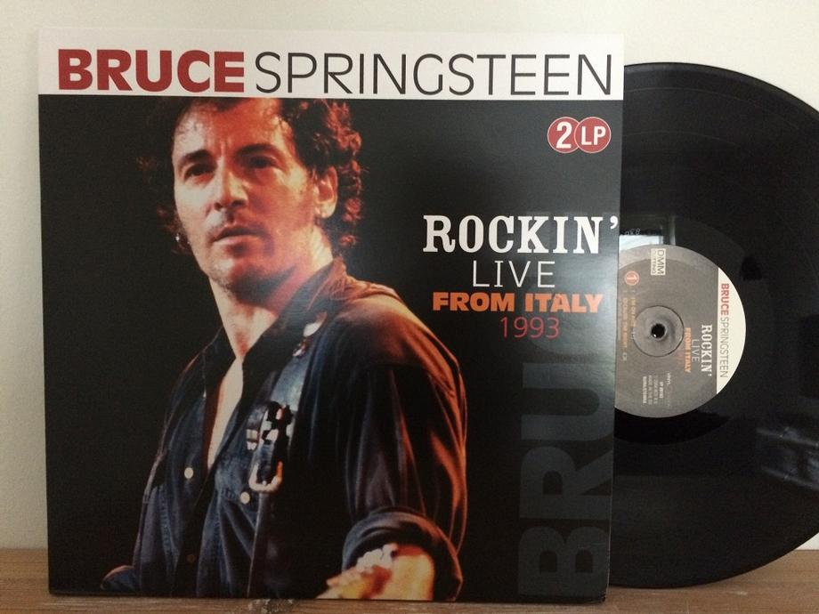 ROCKIN'' LIVE FROM ITALY 1993 Unofficial Pressing