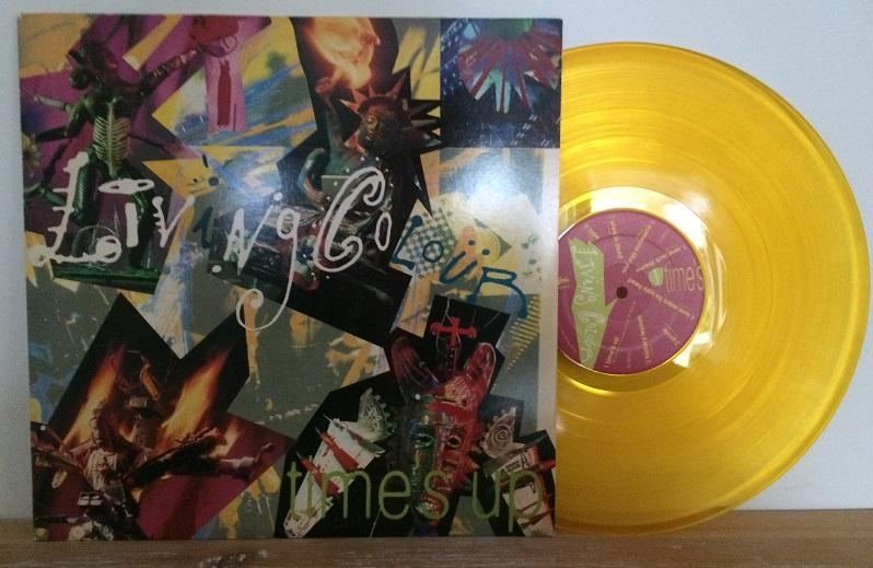 TIME''S UP Yellow Transparent Vinyl