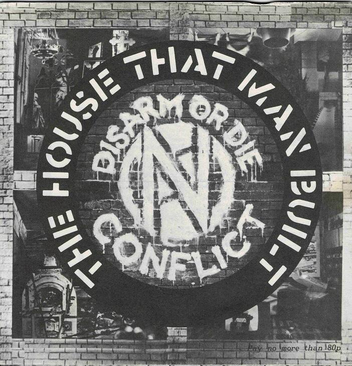 THE HOUSE THAT MAN BUILT EP Postersleeve