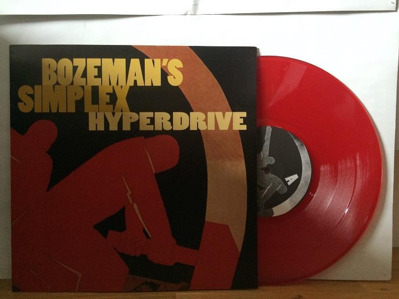 HYPERDRIVE Red Transparent Vinyl