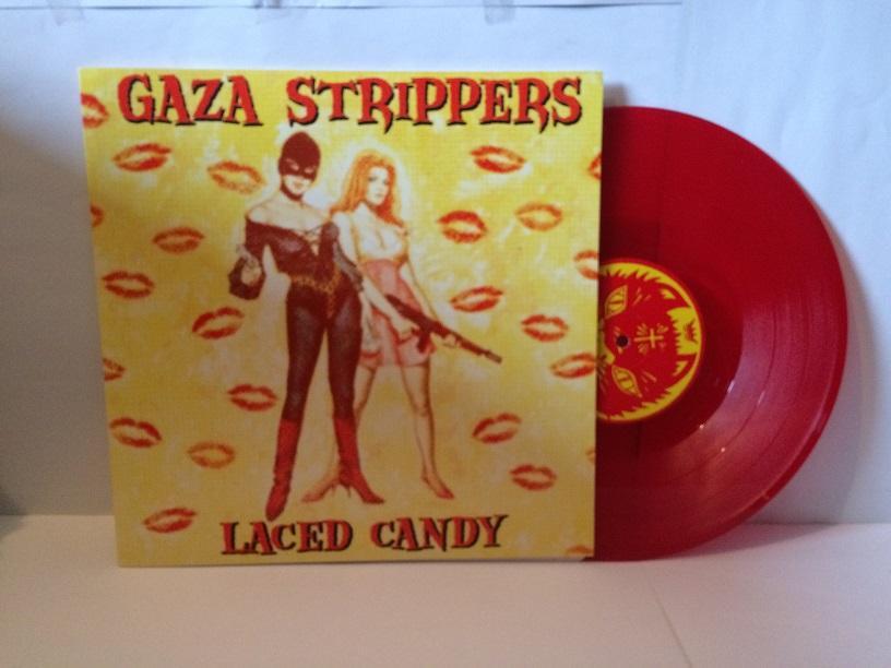 GAZA STRIPPERS Red Vinyl