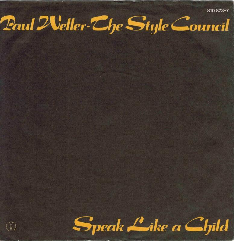 SPEAK LIKE A CHILD / Party Chambers