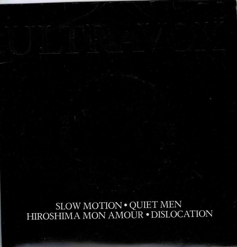 QUIET MEN / Hiroshima Mon Amour / Slow Motion / Dislocation (Tobc)