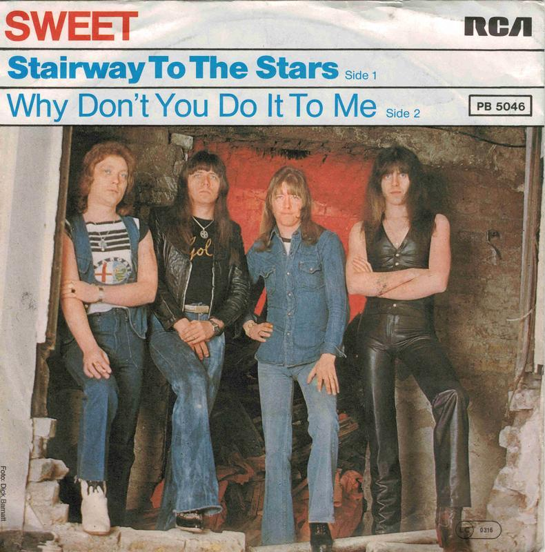 STAIRWAY TO THE STARS / Why Don't You Do It To Me