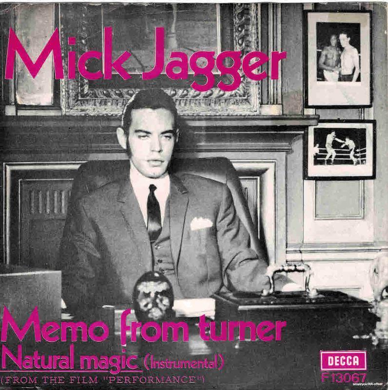 MEMO FROM TURNER / Natural Magic (Instrumental) (Toc/tol)