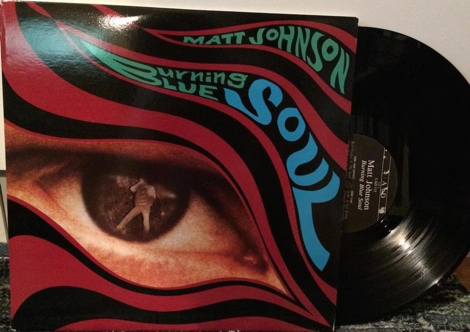 BURNING BLUE SOUL Pre-The The, SUPER RARE, ''Psychedelic Eye Design''