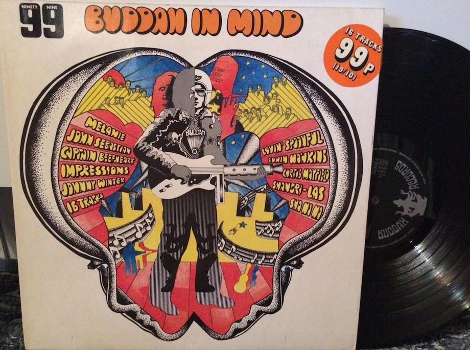 BUDDAH IN MIND Buddah Records Complitation Album (Toc/tol)