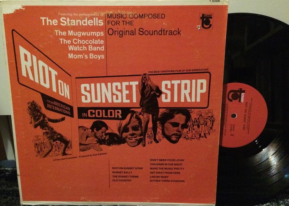 RIOT ON THE SUNSET STRIP (ORIGINAL SOUNDTRACK) Original Pressing (Toc/tol)