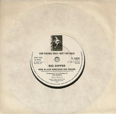 RON KLAUS WRECKED HIS HOUSE / Hey! Mr. Lincoln   Promo pressing