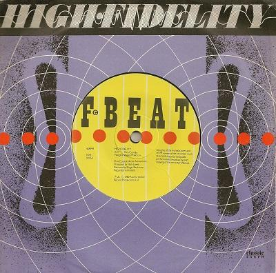HIGH FIDELITY / Getting Mighty Crowded   UK pressing