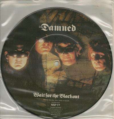 WAIT FOR THE BLACKOUT / Jet Boy, Jet Girl   Picture Disc