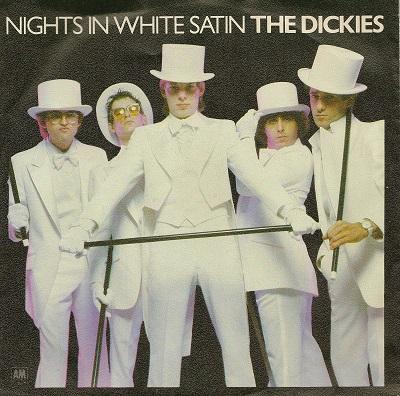 NIGHTS IN WHITE SATIN / Waterslide   Rare Dutch original