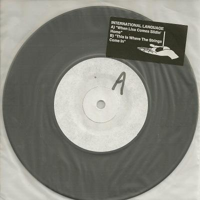 WHEN LISA COMES SLIDIN' HOME / This Is Where The Strings Come In   Promo copy
