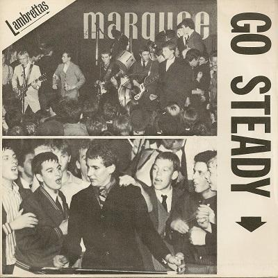 GO STEADY / Cortina / listen, Listen, Listen   UK original MOD