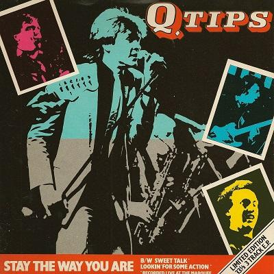 STAY THE WAY YOU ARE / Sweet Talk / Lookin' For Some Action   UK pressing