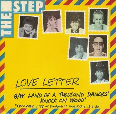 LOVE LETTER / Land Of A Thousand Dances / Knock On Wood   Rare promotional copy