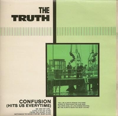CONFUSION (HITS US EVERYTIME) / Me And My Girl   Double single in gatefold sleeve