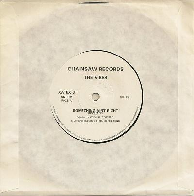 SOMETHING AIN'T RIGHT / Wotcha Gonna Do About It   Rare UK release