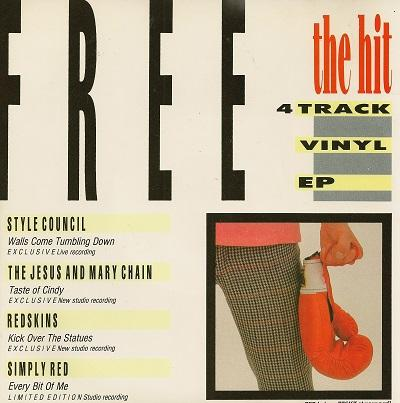 THE HIT RED HOT E.P.   UK compilation freebie single